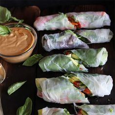 Eat This: Summer rolls with basil, avocado, kale