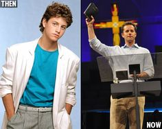 My first crush- Kirk Cameron!  I knew he was a good one.