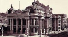 Teatro Municipal do Rio de Janeiro, 1895. Foto de Marc Ferrez.