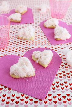 Tinkas Welt: Valentine: Zuckerwattenplätzchen