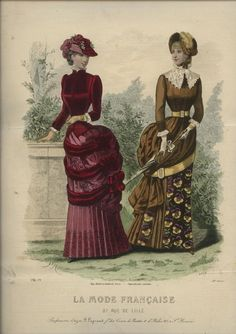 La Mode Francaise 1883