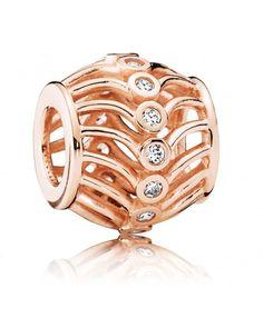Pandora Rose Art Deco Charm