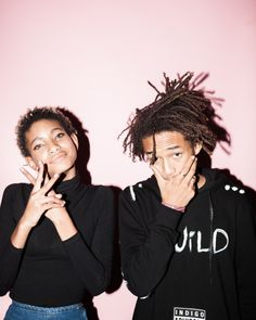 Willow Smith and Jaden Smith at FADER Fort 2014
