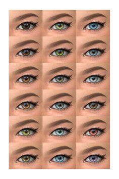 Deelitefulsimmer: Default eyes version • Sims 4 Downloads