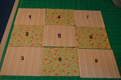 Quilt Blocks For Beginners - Just Quilty  Easy 9 patch