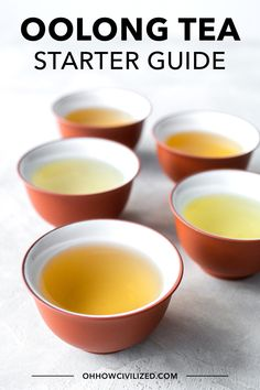 Want to get into oolong tea but don't know where to begin? Get step by step instructions, list of the best oolong teas for beginners, and more! Hot Tea Recipes, Different Types Of Tea, Oolong Tea, Tea Sandwiches, Perfect Cup, High Tea, Recipe Using, Afternoon Tea, Tea Time