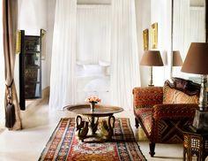 """lunchlatte: """"L'Hôtel Marrakech, the Casablanca suite, designer Jasper Conran's riad in Marrakech, Morocco """" Mr Mrs, Casablanca, Riads In Marrakech, Marrakech Morocco Hotels, Medina Marrakech, Morocco Travel, Shabby Chic, Jasper Conran, Tadelakt"""