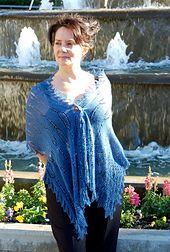 Ravelry: The Witches of Lake Enara rectangular shawl pattern by bunnymuff