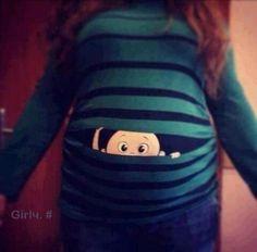 BABY peek-a-boo shirt