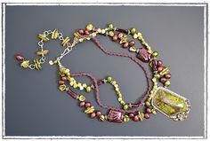 Necklace by Mary Hicklin of Virgo Moon