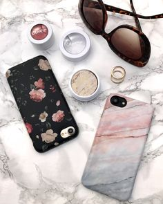 Friday kind of work Smoked Coral & Dark Rose Case for iPhone 7 & iPhone 7 Plus from Elemental Cases