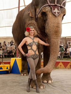 """Water for Elephants: The Elephant in this movie was provided by """"Have Trunk Will Travel"""" a company that has been fined for abusing Elephants and other animals. HOW IRONIC that the elephant played an abused circus elephant when in real life it was abused!! BOYCOTT THE CIRCUS"""