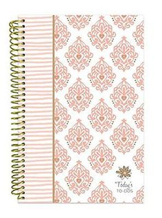 Plan Your Success Undated Perforated To-Do Sheets Pocket Inside Cover