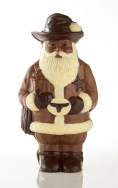 From the Chocolate Secrets Texas Collection - Texas Santa #ChocolateSecrets #Santa #Texas