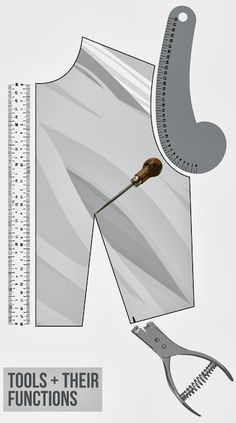 Pattern Drafting Tools and their functions :: By: Isn't that Sew