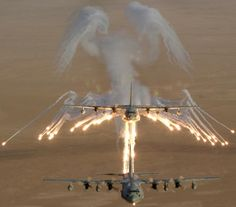 Protecting Two with Angel flares
