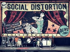 SD New Bands, Cool Bands, Mike Ness, Music Is Life, Music Music, Punk Poster, Sick Boy, Social Distortion, Band Posters