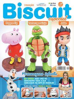Artesanato - Biscuit : COL BISCUIT ESPECIAL 029 - Editora Minuano