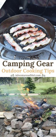 Camping cooking gear is an essential element of camping with your family. Tips for how to make and eat good food when you're outdoors, including ideas for equipment, supplies, tools, and more. #camping #GirlScouts
