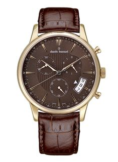 b8e1d1e3ca3 Buy Claude Bernard 01002-37R-BRIR Watches for everyday discount prices on  Bodying. Brown Leather WatchChronographWatches ...