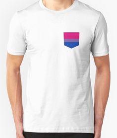 Bi Pride Pocket t shirts for sale on RedBubble