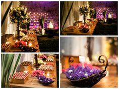 Casamento com detalhes roxo | Purple Wedding | Inesquecível Casamento | Casamento | Wedding | Decoração | Decoração de Casamento | Decor | Decoration | Wedding Decor | Wedding Decoration
