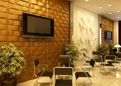 has a wide array of faux leather tiles installations to choose from and all of our tiles are unique and won't burn a hole in your pocket. We have helped to improve the design of lounges, homes, restaurants, bedrooms and much more! Decorative Wall Panels, 3d Wall Panels, Tiles, Flat Screen, Wall Decor, Texture, Pattern, Leather, Room Tiles