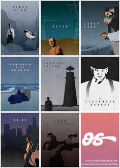 Eight Classy Posters For Eight Great Films