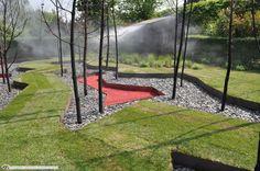 """""""O Jardim Radiante"""" da Áustria, concebido pelos autores: Philipp, Fabian Schicker, Niklas Kandelsdorfer, Roland Wulk."""
