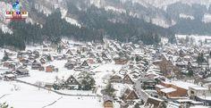Algumas regiões do Japão poderão sofrer mais nevascas devido ao aquecimento global.