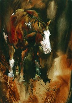 Chris Owen Artist Cowboy and Western Art Prints capture the ranch style life in all it detail. Cattle drives, Horses and more. Chris Owen, Mare Horse, Western Photo, Cowboy Art, Horse Print, Equine Art, Animal Paintings, Horse Paintings, Beautiful Horses