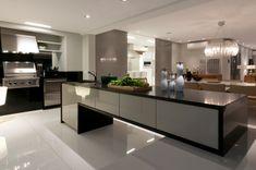 Cozinhas americanas bem planejadas otimizam o espaço e complementam a decoração - Casa e Decoração - UOL Mulher