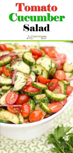 Clean Eating Salads, Healthy Salads, Healthy Eating, Healthy Recipes, Diabetic Salads, Fruit Salads, Avocado Tomato Salad, Cucumber Salad, Kitchen Recipes