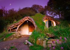 Extraordinary Hobbit Home  Since this post (also pulled from Inhabitat) on Fascinating Underground Homes has been our most popular thus far, we could not overlook the Hobbit Home.