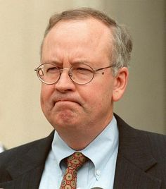 Kenneth Starr - Special prosecutor in President Clinton's impeachment trial.