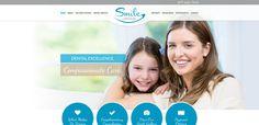 #sesamwebdesign #psds #dental #responsive #blue #brown #topnav #top-nav #circles #fullwidth #full-width #sticky #script #sans