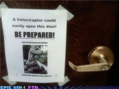 thats why you get a round door knob, because then even if she was clever enough she wouldn't be able to!