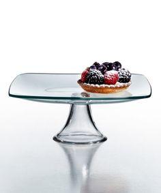 $10 Look at this #zulilyfind! Soho 8'' Pedestal Plate by Jay Import #zulilyfinds