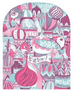 Illustration Friday :: Interview - Meg Hunt