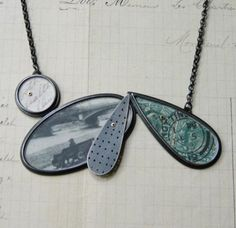 Claire Hillerby :: Scattered necklace