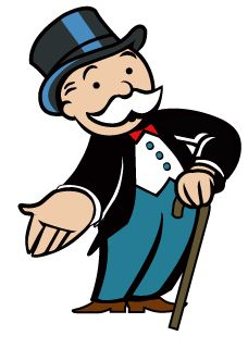 Monopoly -- Rich Uncle Moneybags welcomes you to Monopoly House Productions