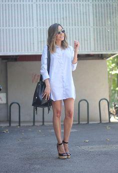 Shirt Dress | BeSugarandSpice - Fashion Blog