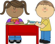 Image result for clip art school kids