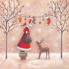 25+ Free Vintage Christmas Printable Images