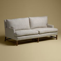 Rose Tarlow Melrose House - Paddington Sofa - I crave this sofa. It's sooo comfortable and I love the lines of it. It's over $11,000 though so I don't see it in my apt. any time soon.