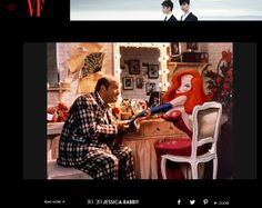 Jessica Rabbit in Vanity Fair article