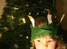 diy santa lucia crown (Megan Cooley)