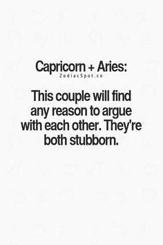 aries man dating a capricorn woman