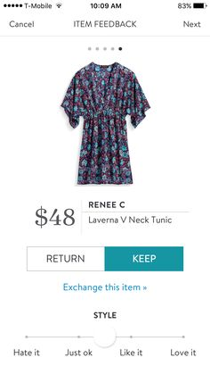 I would love a tunic with buttons so I can nurse easier!! I'd like to try a style like this style out, to see if its flattering!