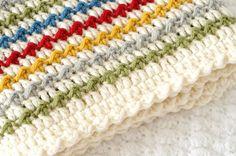 Winifred Baby Blanket Crochet Pattern